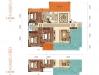 華西城140㎡三室兩廳兩衛樣板間