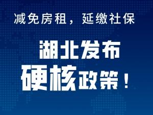 """減免房租、延繳社保…湖北發布""""硬核""""政策!十堰好房東也出手了!"""