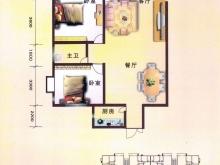 泰康花园A户型2室2厅1卫 97.69㎡