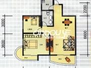 M天下J户型2室2厅1卫85.01㎡