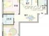 D户型2室2厅1卫 97.56㎡