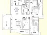武当国际园A户型5室3厅4卫220.00㎡