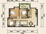 千福·上庸城C户型3室2厅1卫113.04㎡