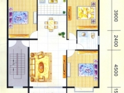 滨岸星城E户型3室2厅1卫122.80㎡
