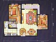 上海城F户型2室2厅1卫95.00㎡