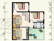水岸新都A户型4室2厅2卫131.63㎡