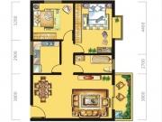 八十阶C户型2室2厅1卫89.91㎡