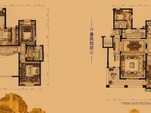 卢浮宫A户型6室2厅5卫3阳台 298.00㎡