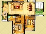 惠隆·九号公馆K户型3室2厅2卫148.58㎡