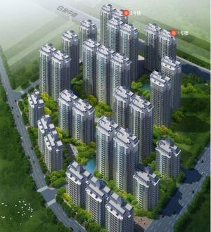 祥安东城国际花园效果图