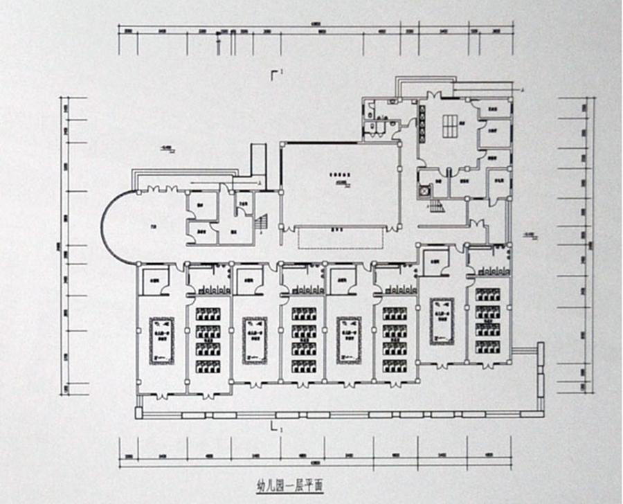 幼儿园平面图
